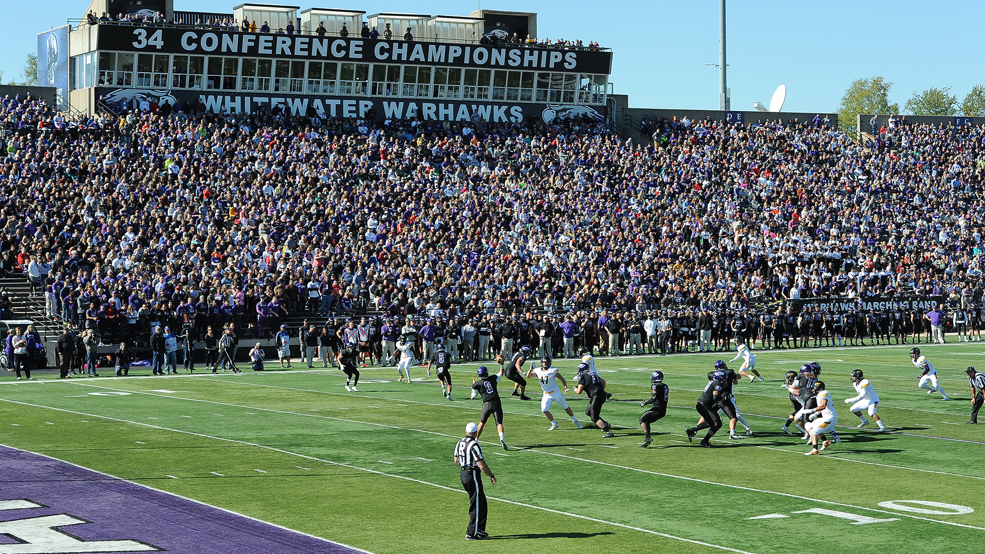 Football crowd Perkins Stadium photo for Oct. 8