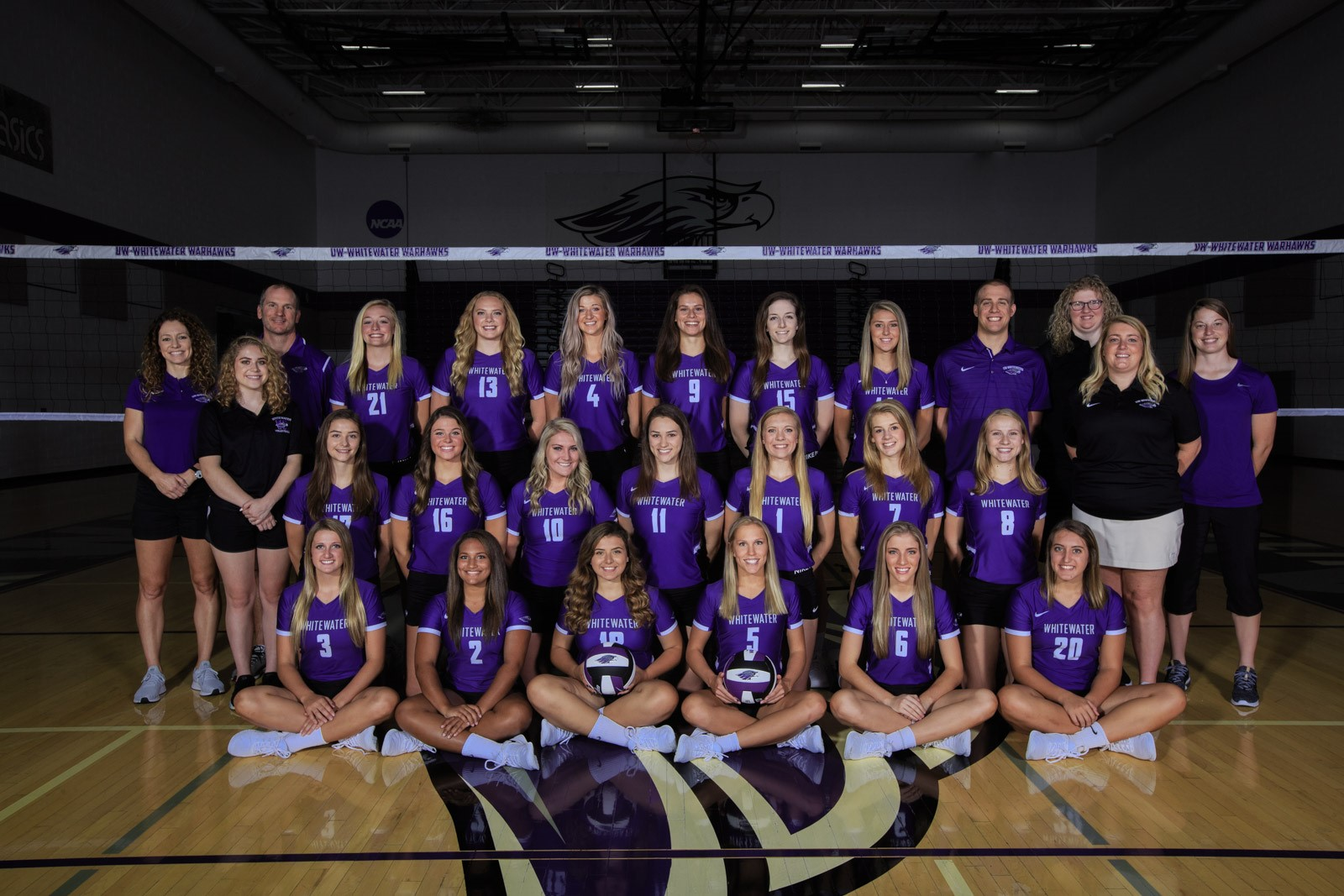 2018 Volleyball Roster University Of Wisconsin Whitewater Athletics