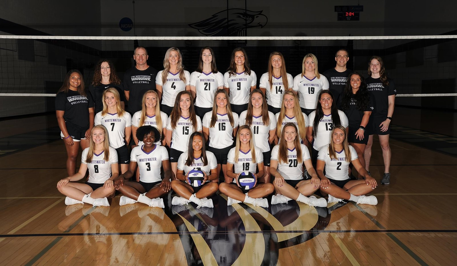 2019 Volleyball Roster University Of Wisconsin Whitewater Athletics